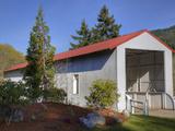 Milo Academy Covered Bridge  Oregon  USA