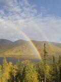 Rainbow  Grayling Lake  Alaska  USA