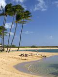 Salt Pond Park Located on the Island of Kauai  Hawaii  USA
