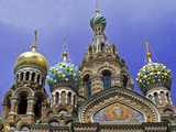 Church of the Spilled Blood  St Petersburg  Russia