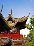 Pagoda at Yuyuan Garden  Old Town  Shanghai  China