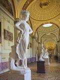 Winter Palace and Hermitage Museum  Dvortsovaya Square  Saint Petersburg  Russia