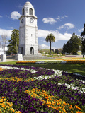 Memorial Clock Tower  Seymour Square  Blenheim  Marlborough  South Island  New Zealand