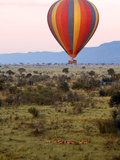 Hot-Air Ballooning  Masai Mara Game Reserve  Kenya
