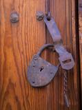 Antique Metal Lock  San Miguel De Allende  Mexico