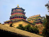 The Pavilion of Buddhist Fragrance  at the Summer Palace  Beijing  China