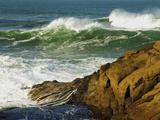 Incoming Tide at Yachats  Yachats  Oregon  USA