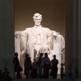 Lincoln Memorial  Washington DC  USA  District of Columbia