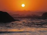 Sunset at Seal Rock: Oregon  USA