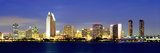 San Diego Skyline  California  USA