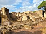 A View of Herculaneum Archaeological Site  Herculaneum Ruins  Near Naples  Campania  Italy