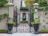 House Entrance  Historic District  Charleston  South Carolina  USA