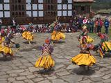 Ura Yakchoe Festival  Bumthang  Bhutan