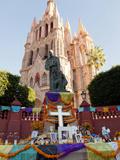 La Parroquia De San Miguel Church  San Miguel De Allende  Mexico
