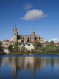View from the Tormes River  Salamanca  Spain