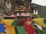 Prayer Flags  Tiger's Nest  Bhutan