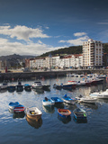 Town and Harbor View  Castro-Urdiales  Spain