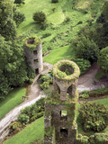 High Angle View of Towers  Blarney Castle  County Cork  Ireland