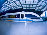 The Maglev Train  Fastest Train in the World  Shanghai  China