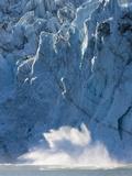 Surprise Glacier Calving  Prince William Sound  Alaska  USA