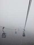 Ngong Ping Cable Car  Hong Kong  China
