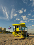 Lifeguard Station  South Beach  Miami  Florida  USA