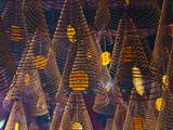 Incense at a Chinese Temple  Vietnam