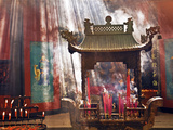 Lingyin Buddhist Temple Candles and Incense  Hangzhou  China