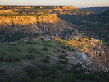 Palo Duro Canyon State Park  Texas  USA