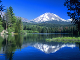 Mt Lassen National Park  California  USA