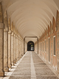 Arched Walkway  the Royal Palace  Aranjuez  Spain
