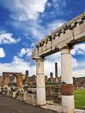 The Ancient Ruins of Pompeii  Italy