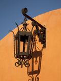 Street Lamp and Shadow  San Miguel De Allende  Mexico