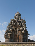 Church of the Transfiguration  Kizhi Island  Lake Onega  Russia