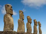 Ahu Akivi  Rapa Nui  Easter Island  Chile