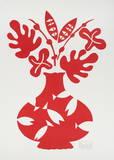 Vase III Rouge