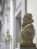 Bust of Spanish King Philip Iii  the Alcazar  Segovia  Spain