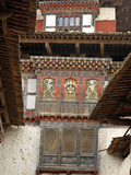 Wangu Phodrang Dzong  Wangdue  Bhutan