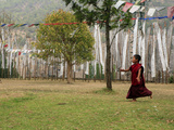 Prayer Flags  Punakha  Bhutan