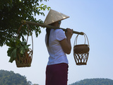 Tribal Girl with Conical Hat  Vietnam