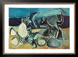 Cat and Crab on the Beach  1965