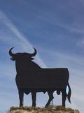 Famous Bull Symbols of the Bodegas Osborne  Puerto De Santa Maria  Spain