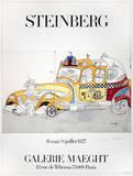 Taxi Reproductions de collection premium par Saul Steinberg