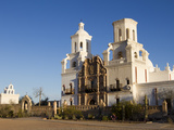 Mission San Xavier Del Bac  Arizona  USA