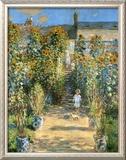 Garden at Vetheuil  1881