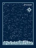 Southern Hemisphere Star Chart