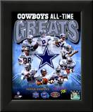 Dallas Cowboys All Time Greats Composite