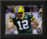 Aaron Rodgers Action from Super Bowl XLV (19)