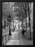 Escaliers a Montmartre  Paris