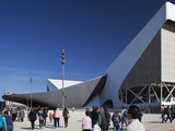 The Entrance to The Aquatics Centre in Olympic Park During Gold Challenge Event  London  England